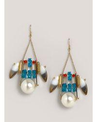 Scho | Blue Dominus Earrings | Lyst
