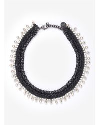Venessa Arizaga | Metallic 'luna' Necklace | Lyst