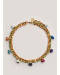 Venessa Arizaga - Multicolor 'arena Mexico' Necklace - Lyst