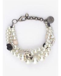 Venessa Arizaga | White 'secret Love' Bracelet | Lyst