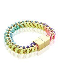 Bex Rox | Metallic Box Bracelet | Lyst