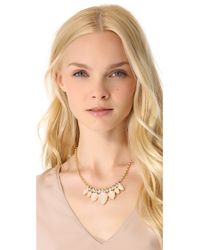 Club Monaco - Pink Opal Statement Necklace - Lyst