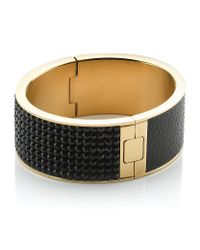 Swarovski | Black Intervalle Bangle | Lyst