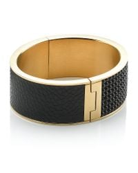 Swarovski - Black Intervalle Bangle - Lyst