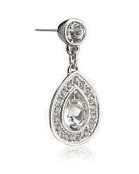Swarovski - Metallic Multi-crystal Ear Climber Earrings - Lyst