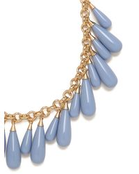 BaubleBar   Blue Peri Tear Fringe Necklace   Lyst