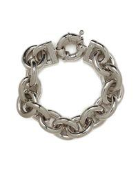 BaubleBar - Metallic Classic Silver Links - Lyst