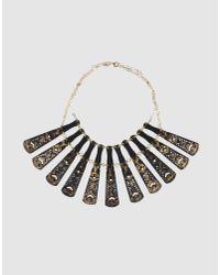 Carmina Campus - Black Necklace - Lyst
