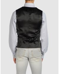 Love Moschino | Black Vest for Men | Lyst