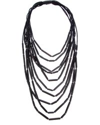 Monies - Black Foc Necklace - Lyst