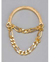 RebekkaRebekka - Metallic The Lilly Ring - Lyst