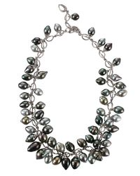 Tamara Comolli - White Collier Grapes Tahitian Necklace - Lyst