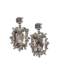 DANNIJO | Metallic Rimini Earrings | Lyst