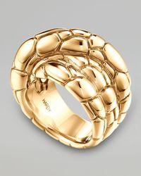John Hardy - Metallic Kali 18k Gold Twist Ring - Lyst