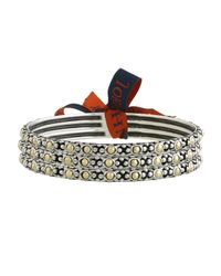 John Hardy | Metallic Jaisalmer Gold & Silver Slim Bangle Set Of 3 | Lyst