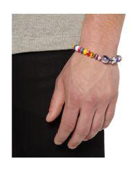 Luis Morais - Yellow Antique African Wedding Bead Bracelet for Men - Lyst