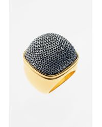 Adami & Martucci | Metallic Mesh Square Ring Nordstrom Exclusive | Lyst