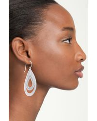 Anna Beck | Metallic Timor Double Drop Earrings | Lyst