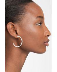 Lagos | Metallic Caviar Hoop Earrings | Lyst