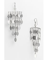 Lois Hill | Metallic Summer Shimmer Chandelier Earrings | Lyst