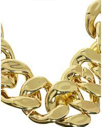ASOS | Metallic Xl Chain Link Necklace | Lyst