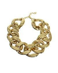ASOS | Metallic Xl Chain Link Necklace | Lyst