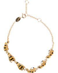 Delfina Delettrez - Yellow 'To Be Or Not To Bee' Bracelet - Lyst