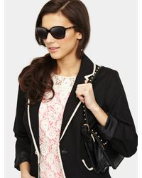 Givenchy   Black Oversized Sunglasses   Lyst