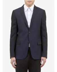 Jil Sander - Blue Two-button Variegated Jacket for Men - Lyst