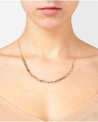 Natasha Collis | Metallic Rockfall Diamond and 18k Gold Nugget Necklace | Lyst
