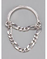 RebekkaRebekka | Metallic The Lilly Ring | Lyst