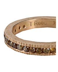 Todd Reed - Metallic Channel Set Eternity Ring - Lyst