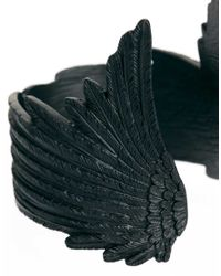 Wildfox - Matte Black Angel Cuff - Lyst