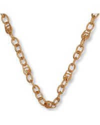 Michael Kors - Metallic Chain Necklace - Lyst