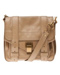 Proenza Schouler | Brown Ps1 Medium Leather Tote | Lyst