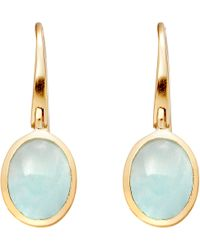 Astley Clarke | Blue Cadenza Milky Aqua Quartz Earrings | Lyst