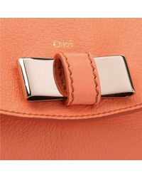 Chloé - Orange Lily Pouch Bag - Lyst