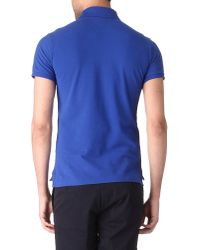 Ralph Lauren - Blue Slim Fit Yacht Club Polo Shirt for Men - Lyst
