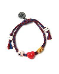 Venessa Arizaga | Blue Romeo And Juliet Ceramic Bracelet | Lyst