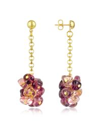 Antica Murrina | Purple Rubik - Murano Glass Drops Earrings | Lyst