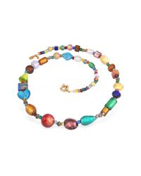 Antica Murrina - Fanny - Multicolor Murano Glass Bead Necklace - Lyst