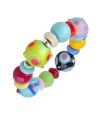Antica Murrina | Ipanema - Multicolor Murano Glass Bead Bracelet | Lyst