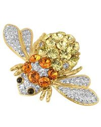AZ Collection | Yellow Beetle Brooch | Lyst