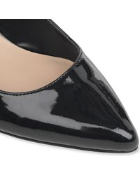 Dune - Blue Archivve Satin Pointed Toe Court Shoes - Lyst