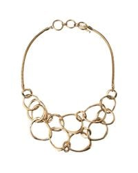 French Connection - Metallic New Organics Necklace - Lyst