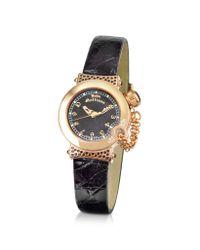 John Galliano | Black Lelu - Ladies Diamond Gold Plated Dress Watch | Lyst