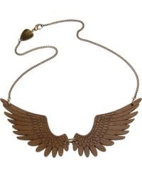 Tatty Devine - Metallic Pegasus Large Necklace - Lyst