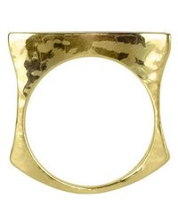 Torrini | Metallic Mood - Mother Of Pearl And 18K Yellow Gold Ring | Lyst