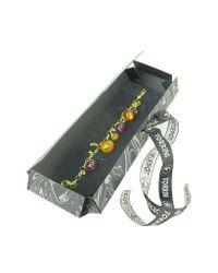 Torrini - Metallic Tulipani Amethyst And Amber Charm 18K Gold Bracelet - Lyst