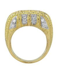 Torrini - Wallstreet - 18k Yellow Gold Diamond Ring - Lyst